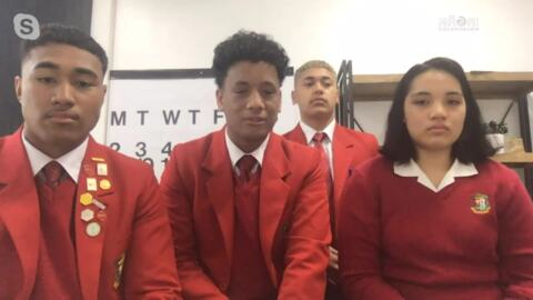 Video for Secondary school entrepreneurs honoured for their company promoting Samoan culture