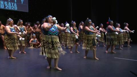 Video for 2020 Kapa Haka Regionals, Te Tū Mataora, Poi