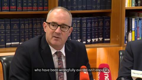 Video for Calls for Housing NZ CEO to resign
