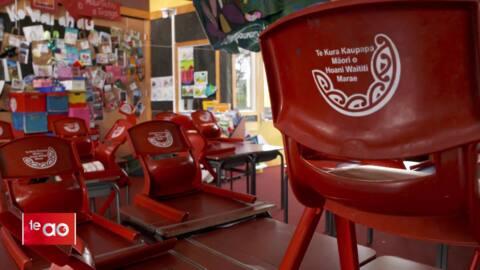 Video for Auckland Kura Māori stay closed
