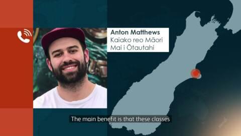 Video for Mobilising te reo around Te Waipounamu