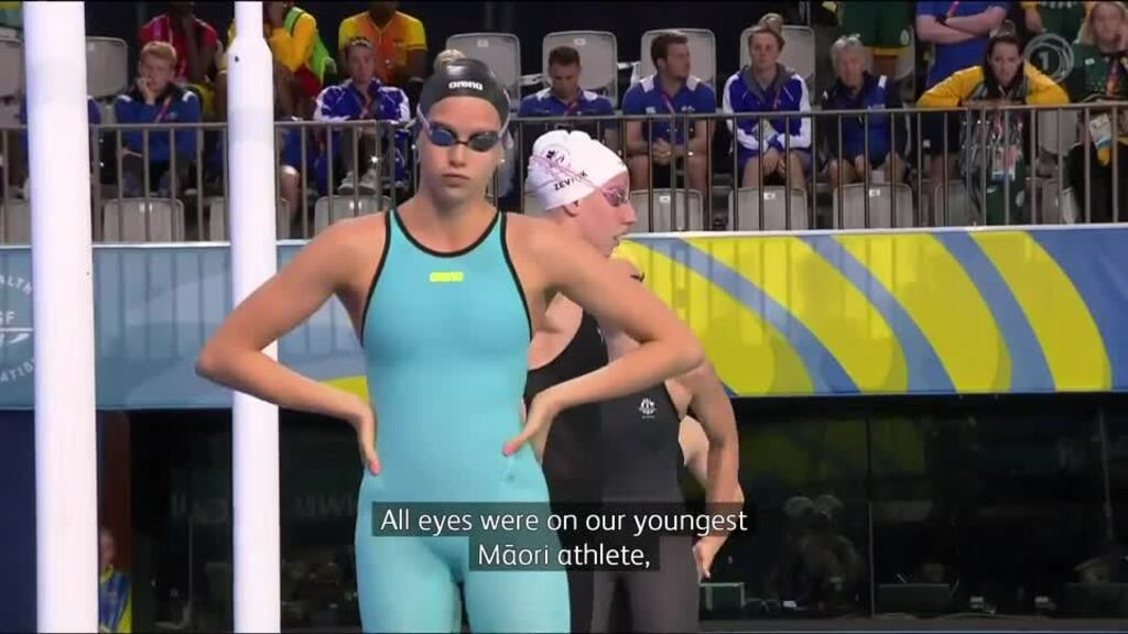 Video for Mixed results for Māori swimmers