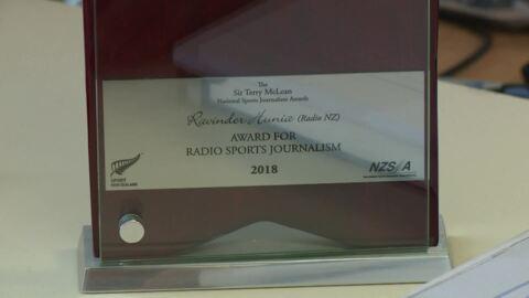 Video for Hunia wins Radio Sports Journalism Award