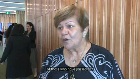 Video for Māori women leaders support for whānau affected by Awanui Black accusations