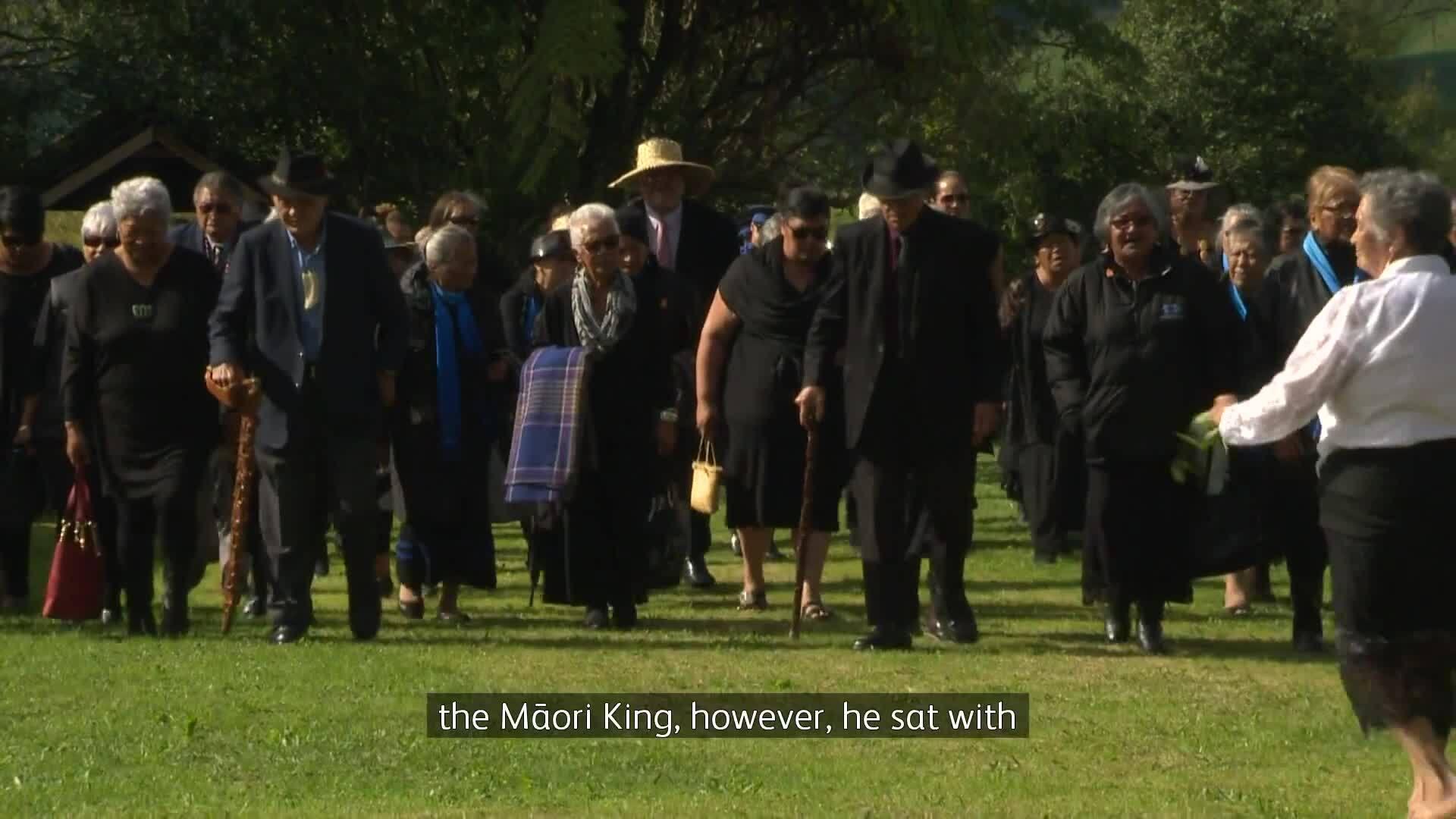 Video for National Party leader Simon Bridges returns to marae