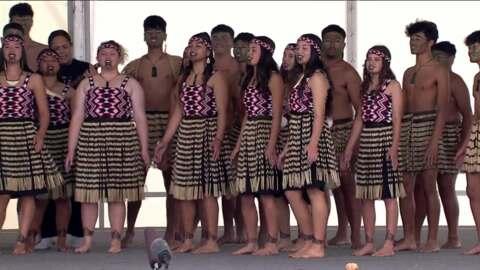 Video for 2021 ASB Polyfest, Waiuku College, Waiata Tira