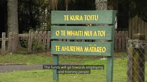 Video for Ngāti Whare to benefit from funds