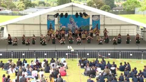 Video for Te Ahurea Tino Rangatiratanga, Papakura High School - Kahurangi ki Uta,
