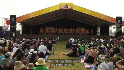 Video for Mātaatua regional kapa haka festival sets high bar