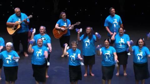 Video for 2020 Kapa Haka Regionals, Te Kotahitanga o Punahau, Poi