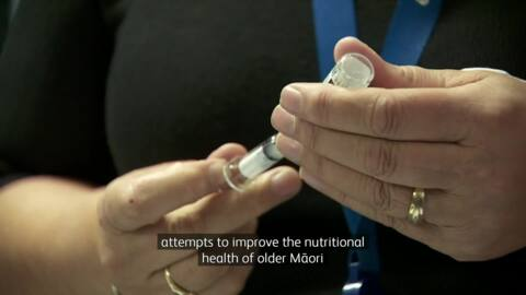 Video for Older Māori benefit from traditional food practices