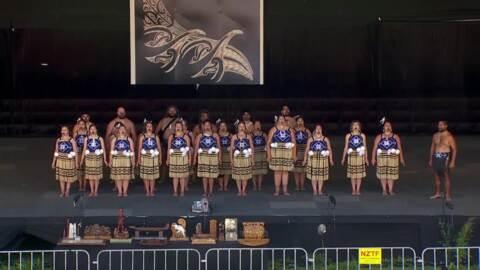 Video for 2020 Kapa Haka Regionals, Te Aranga, Mōteatea