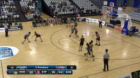 Video for Schick Basketball Champs 2018, Hutt Valley High v St Peters Cambridge (AA Girls Grand Final)