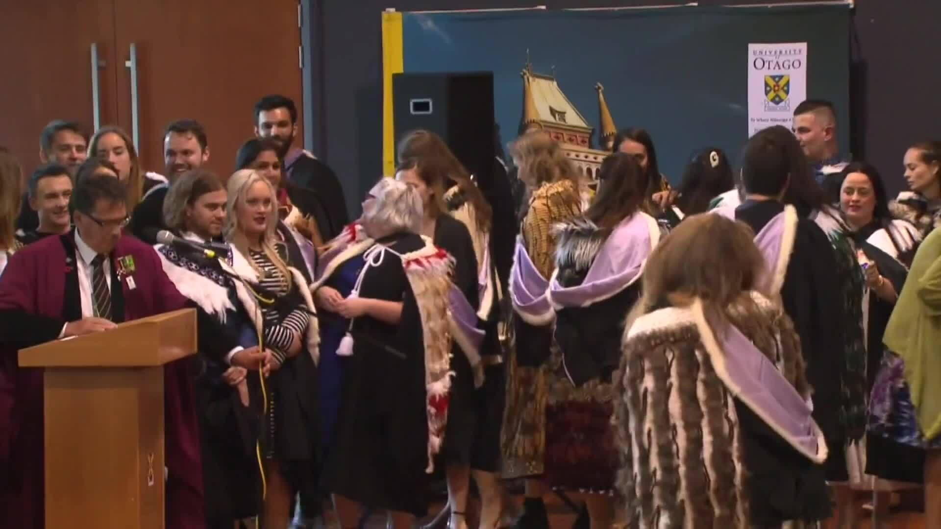 Video for A rise in Māori, Pacific participation in Healthcare degrees