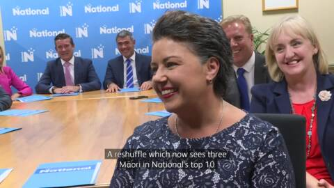 Video for National Party Reshuffle positions three Māori in top ten