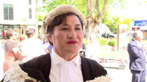 Video for Wāhine Māori trio sworn into High Court