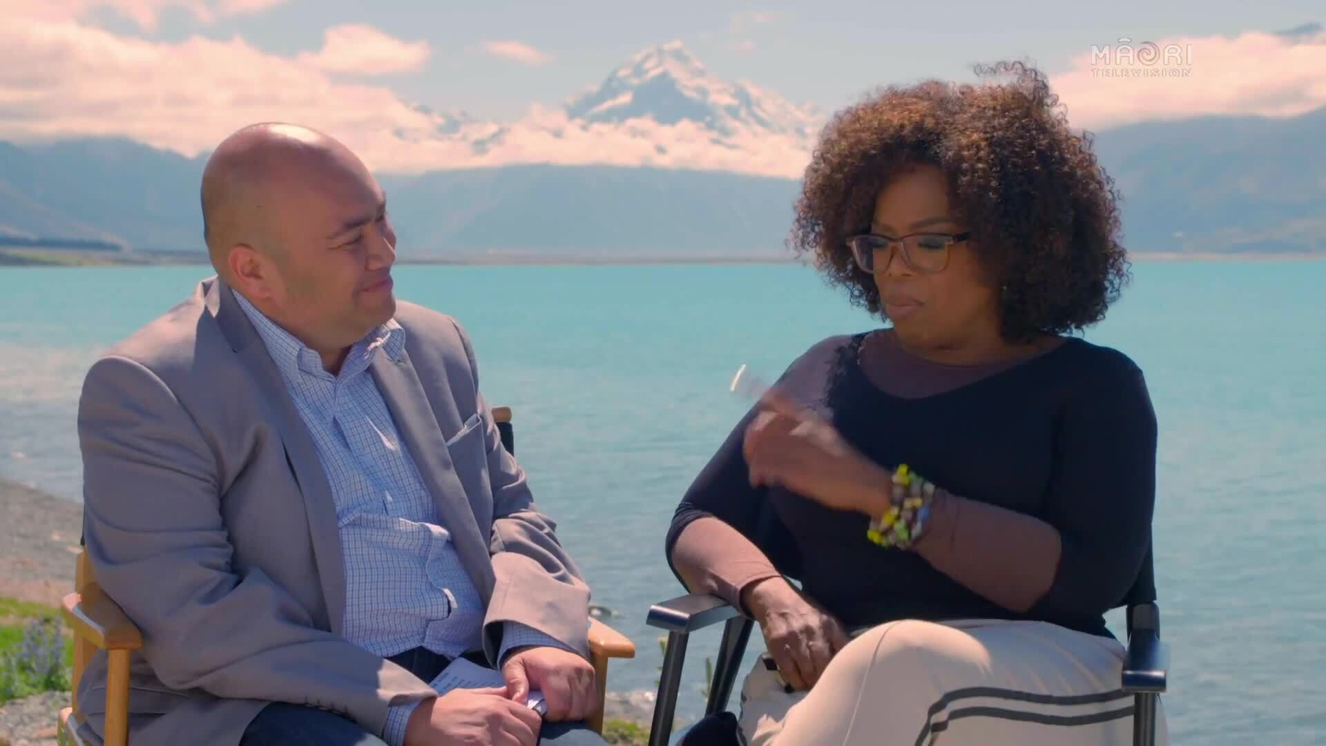 "Video for 'Better than saying Kanye"" - Oprah on Trump's VP 'offer'"