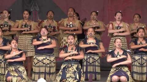 Video for ASB Polyfest 2018, Kahurangi ki Maungawhau (Auckland Girls Grammar School), Full Bracket