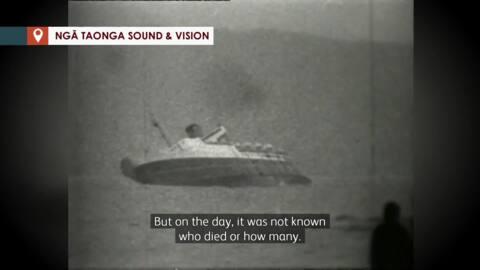 Video for Wahine Disaster: Koroua recalls helping survivors