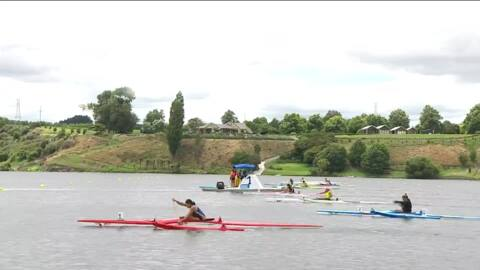 Video for 2021 Waka Ama Championships - J19 Women Dash - W1 250 St. Final