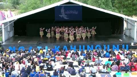 Video for 2020 Kapa Haka Regionals, Te Kikiri o te Rangi, Poi