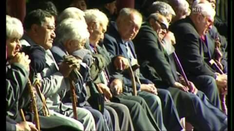 Video for Ngāti Hikairo kaumātua Kingi Porima passes away