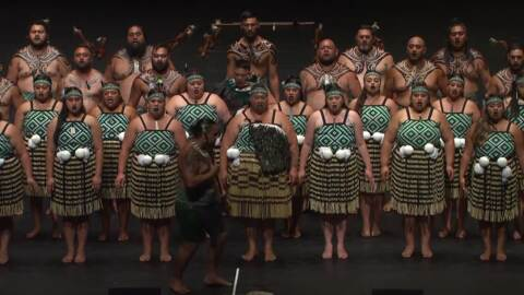 Video for 2020 Kapa Haka Regionals, Te Toka Tu Manawa, Waiata Tira