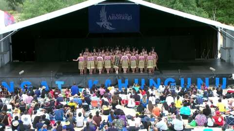 Video for 2020 Kapa Haka Regionals, Mātangirau, Waiata Tira