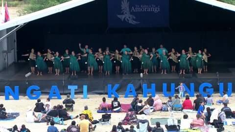 Video for 2020 Kapa Haka Regionals, Ngā Taipakeke o Ngāti Ranginui, Whakaeke