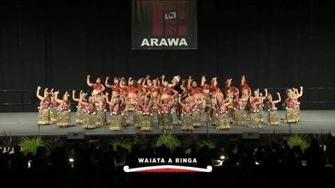 Video for 2020 Kapa Haka Regionals, Ngāti Rangiwewehi, Full Bracket