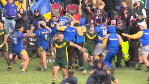 Video for Turangawaewae win sensational Waikato league grand final with last gasp try over Taniwharau