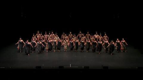 Video for 2020 Kapa Haka Regionals, Te Waka Huia, Whakaeke