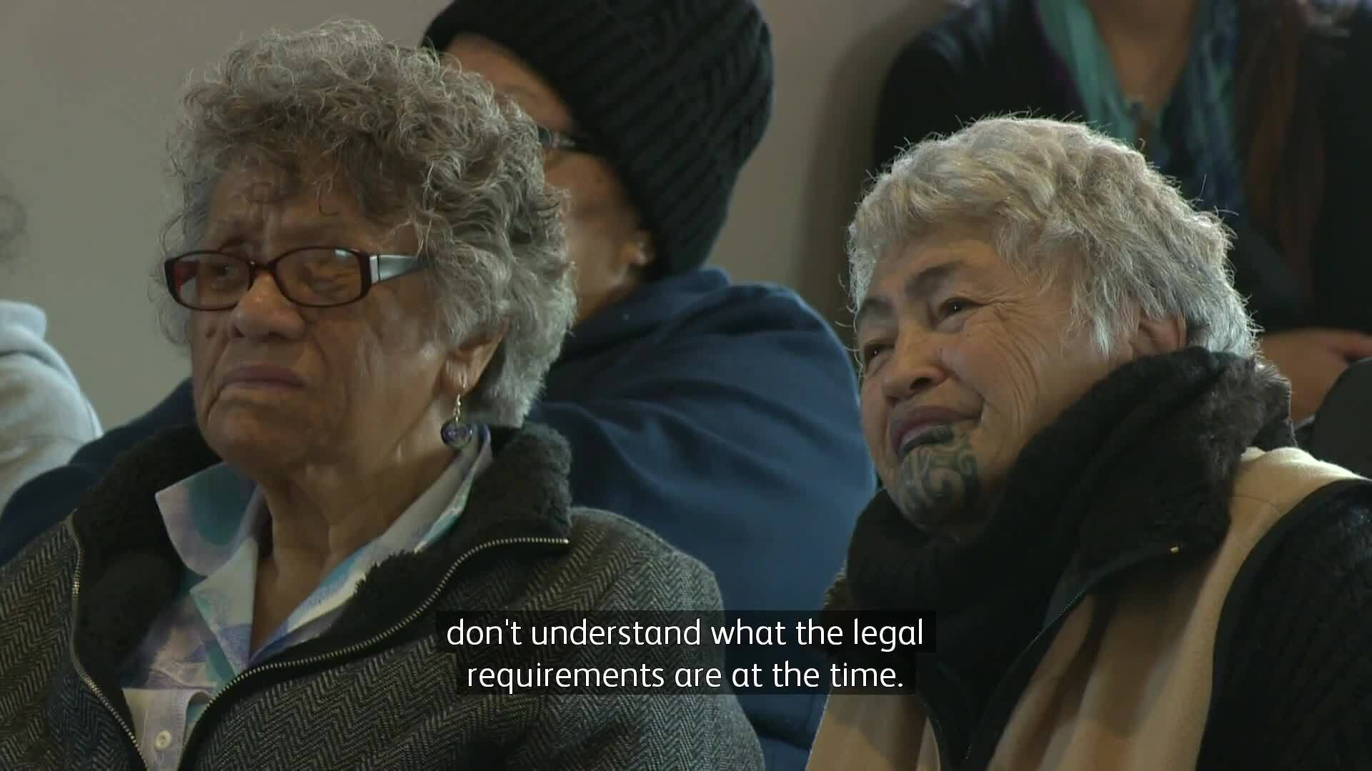 Video for Waikato-Tainui marae examine tangihana lore and law