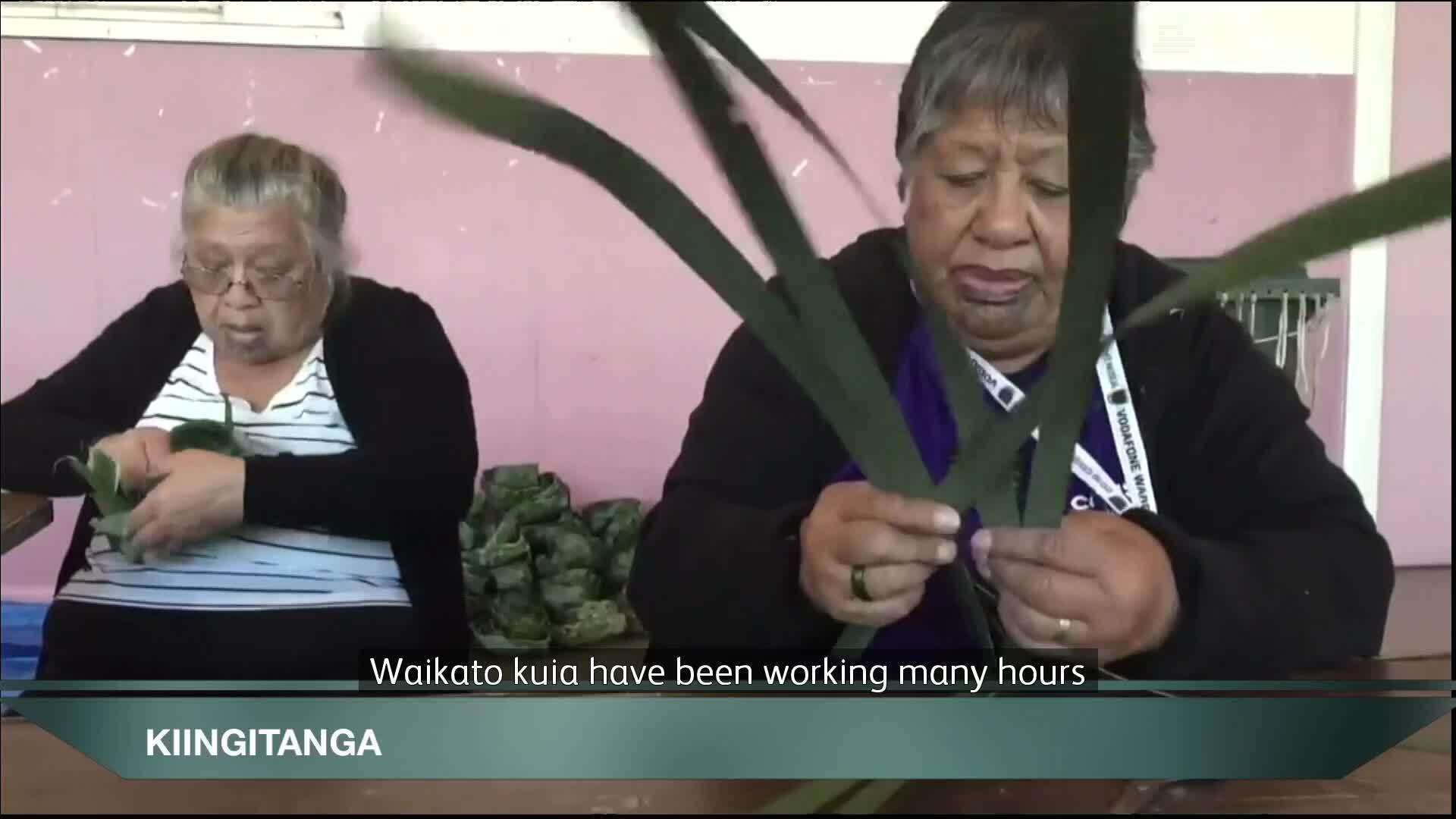 Video for Preparing kono for Kiingitanga anniversary