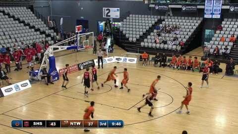 Video for Schick Basketball Champs 2018, Stratford High v Nga Taiatea SF1