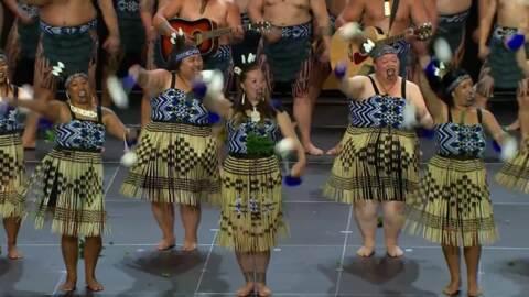 Video for 2020 Kapa Haka Regionals, Te Ahi a Tahurangi, Poi