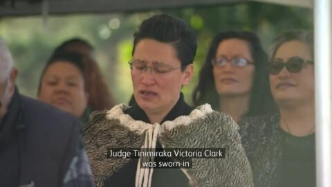 Video for New Māori District Court Judge appointed