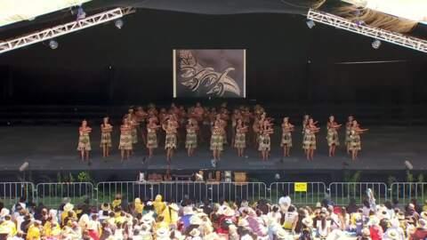 Video for 2020 Kapa Haka Regionals, Waioweka, Whakawātea