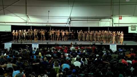 Video for 2020 Kapa Haka Regionals, Te Raranga Whānui, Whakawātea