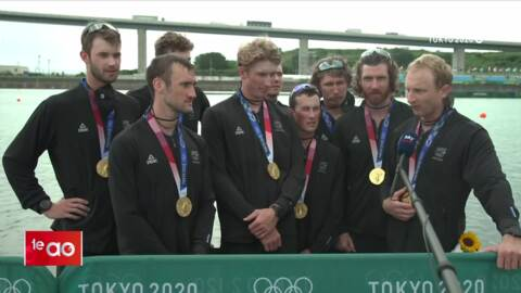 Video for Kiwis can't fly but boy can they row!