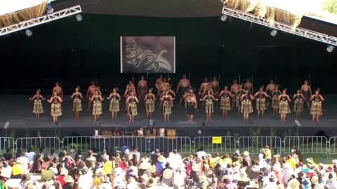 Video for 2020 Kapa Haka Regionals, Ruatāhuna Kākahu Mauku, Whakawātea