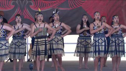 Video for 2021 ASB Polyfest, Kahurangi ki Maungawhau - Auckland Girls Grammar School, Haka