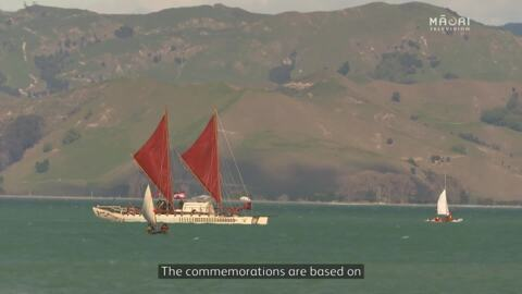 Video for Waka flotilla arrival a celebration of Māori and Polynesian voyaging culture