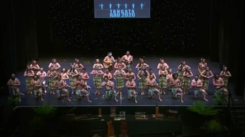 Video for 2020 Kapa Haka Regionals, Te Tini o Rēhua, Whakawātea