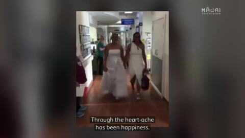 Video for Kiwi Ferns captain Hireme brings wedding forward for her dying mother