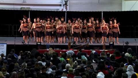Video for 2020 Kapa Haka Regionals, Te Aranganui, Mōteatea