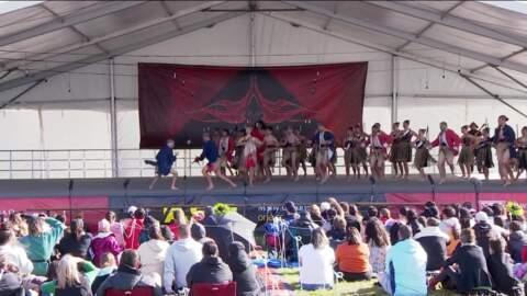 Video for 2021 ASB Polyfest, Te Rōpu Kapa Haka o te Kōtuku - Rutherford College, Whakaeke
