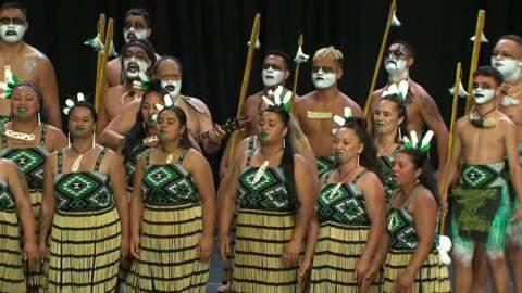 Video for 2020 Kapa Haka Regionals, Ngā Uri Taniwha Waiata Tira