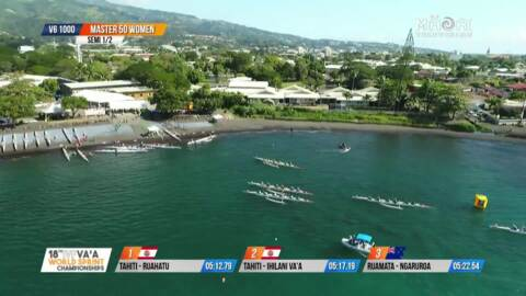 Video for IVF Va'a World Sprints Tahiti 2018 Series 1 Episode 24