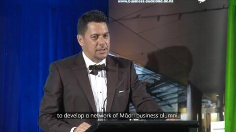 Video for Ka whakanuia ngā kaiārahi pakihi Māori ki te pō tuku tohu 2018